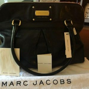 Black Marc Jacobs Palais Royal Jen Bag Satchel